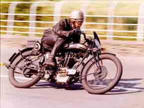 George Cohen Norton Motorcycles Single Cylinder